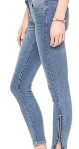Free People skinny ankle jeans size 30